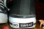 no sweat shoes