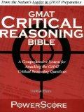 PowerScore Critical Reasoning Bible