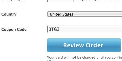BTG2 Discount Code - Grockit