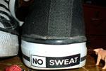 no sweat shoes