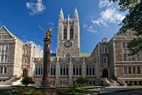 Boston College Campus Image
